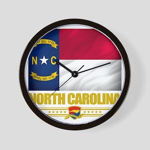 North Carolina (Flag 10) Wall Clock