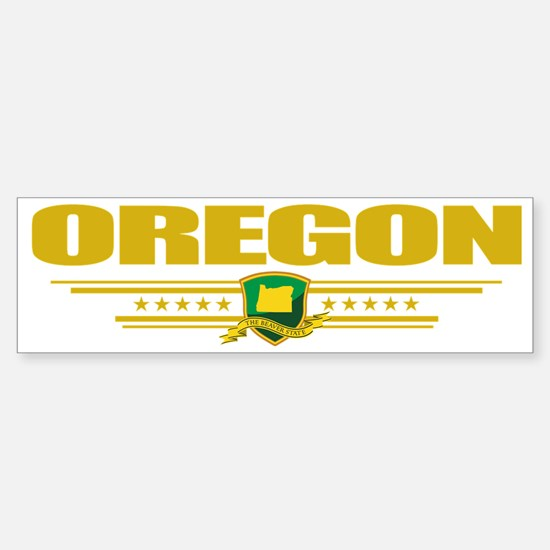 Oregon (Flag 10) pocket Sticker (Bumper)