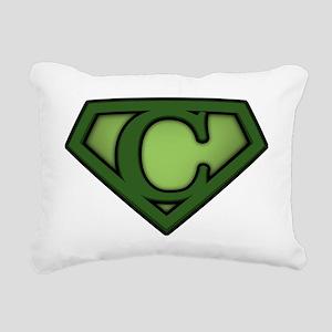 Super green c Rectangular Canvas Pillow