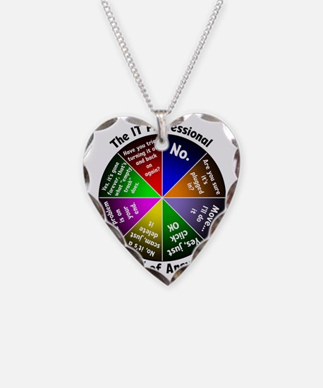 The IT Professional Necklace Heart Charm