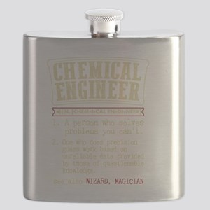 Chemical Engineer Funny Dictionary Term Flask