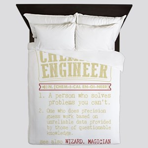Chemical Engineer Funny Dictionary Ter Queen Duvet