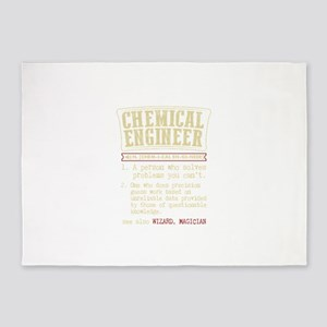 Chemical Engineer Funny Dictionary 5'x7'Area Rug