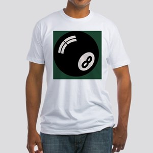 8-ball-toony-TIL Fitted T-Shirt
