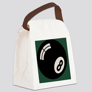 8-ball-toony-TIL Canvas Lunch Bag