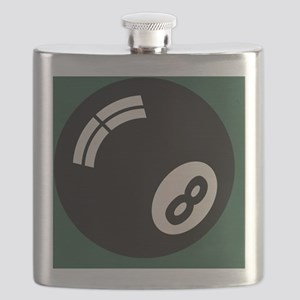8-ball-toony-TIL Flask