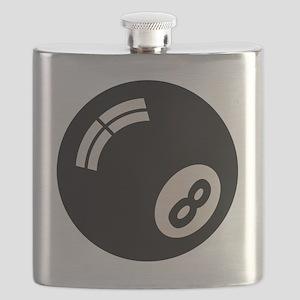 8-ball-toony-LTT Flask