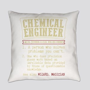 Chemical Engineer Funny Dictionary Everyday Pillow