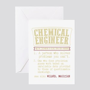 Chemical Engineer Funny Dictionary Greeting Cards