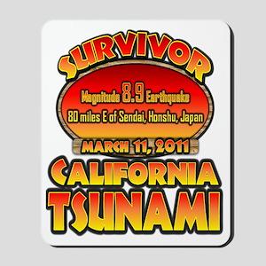california_tsunamicp Mousepad