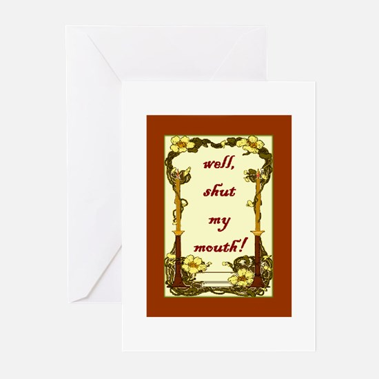 Sayings of the South Greeting Cards (Pk of 10)