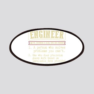 Chemical Engineer Funny Dictionary Term Patch