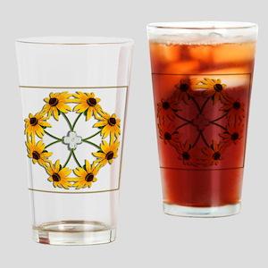 BlackEyedSusans_slider_iPhone Drinking Glass