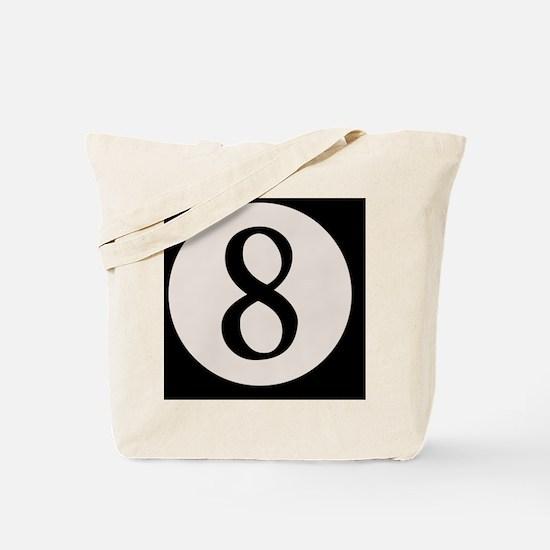 8-ball-8-BUT Tote Bag