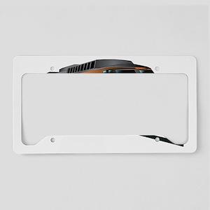 Fast Train License Plate Holder