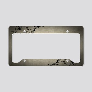 conventionality-is-not-morali License Plate Holder
