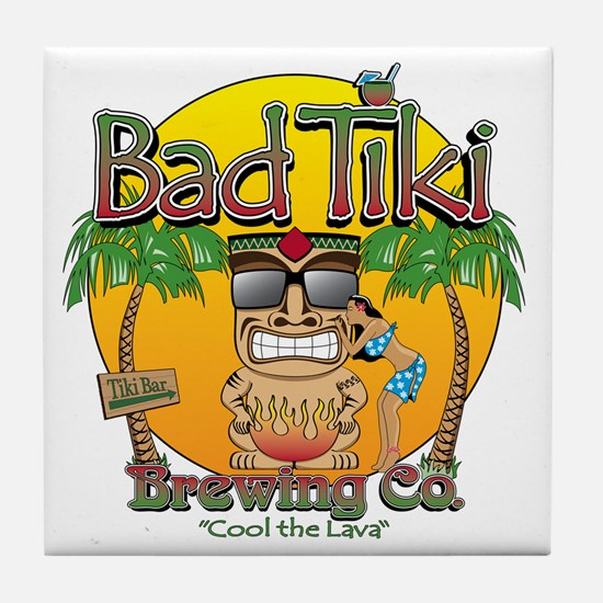 Bad Tiki - Revised Tile Coaster