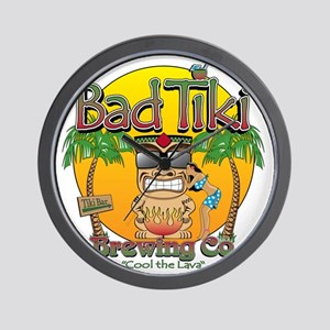 Bad Tiki - Revised Wall Clock