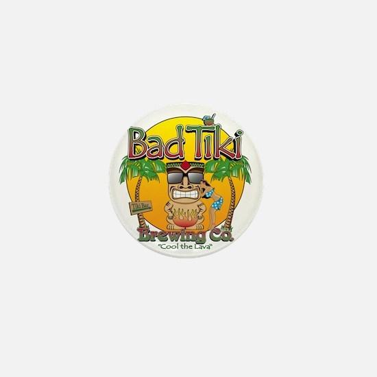 Bad Tiki - Revised Mini Button