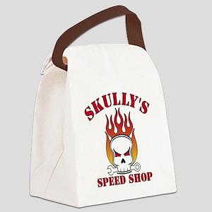 Skullys Back - Revised Canvas Lunch Bag