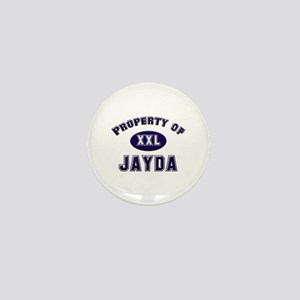 Property of jayda Mini Button