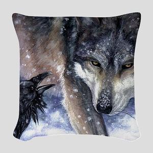 The Messenger Woven Throw Pillow