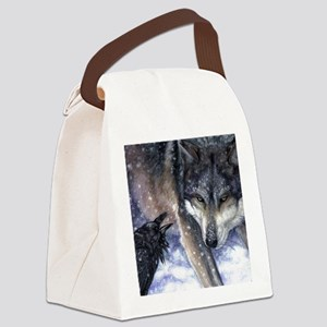 The Messenger Canvas Lunch Bag
