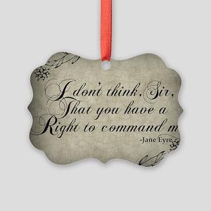 right-to-command-me_sb Picture Ornament