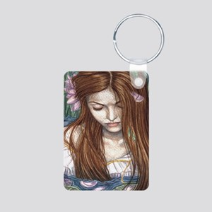 Ophelia Aluminum Photo Keychain