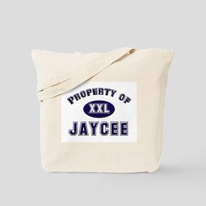 Property of jaycee Tote Bag