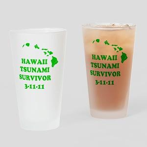 tsunami31111 Drinking Glass