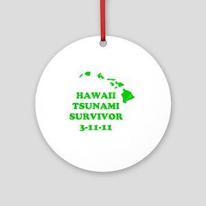 tsunami31111 Round Ornament