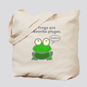 frog-plague Tote Bag
