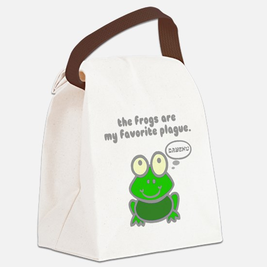 frog-plague Canvas Lunch Bag