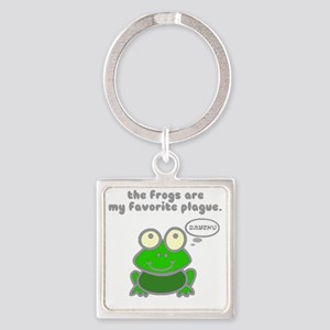 frog-plague Square Keychain