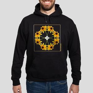 BlackEyedSusans_t-shirt Hoodie (dark)