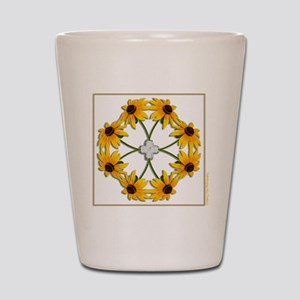 BlackEyedSusans_t-shirt Shot Glass