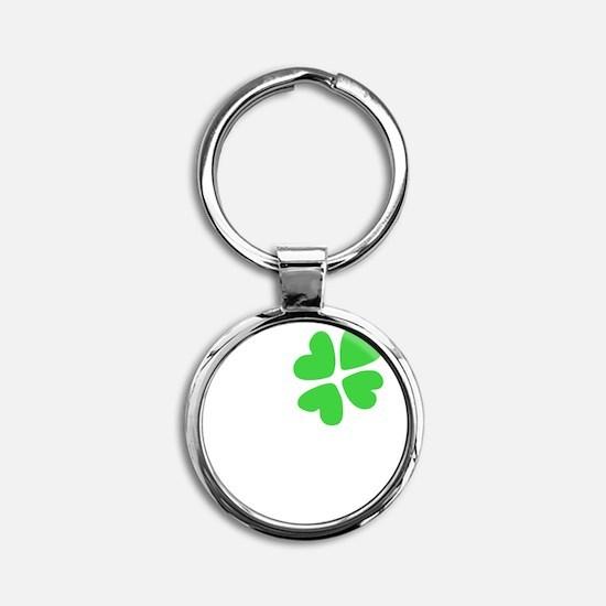Designs-Irish005-02 Round Keychain
