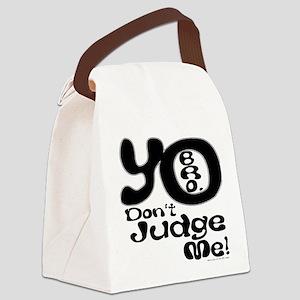 yo copy Canvas Lunch Bag
