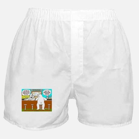 AT THE POLAR BAR Boxer Shorts
