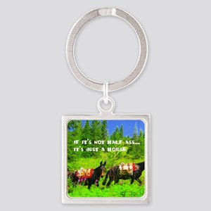 justhorse Square Keychain