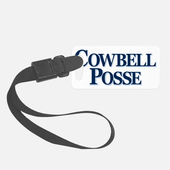Cowbell_Posse_Logo_Stacked Luggage Tag
