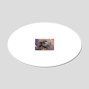 Smokin Saffron 20x12 Oval Wall Decal