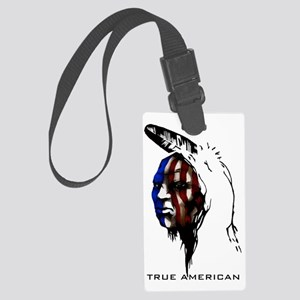 american1 Large Luggage Tag