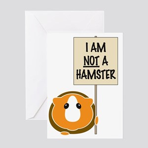 notahamster Greeting Card