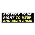 Protect Your Gun Rights Bumper Sticker