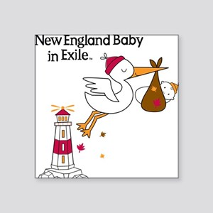 """newengland_exile Square Sticker 3"""" x 3"""""""