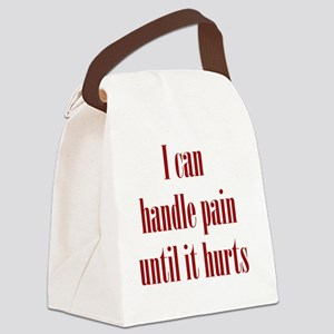 handle-pain_tall2 Canvas Lunch Bag