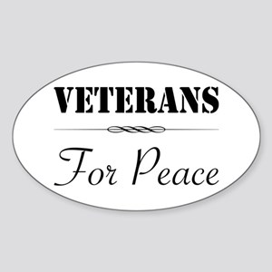 Veterans for Peace Oval Sticker