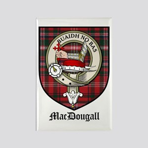 MacDougall Clan Crest Tartan Rectangle Magnet (10